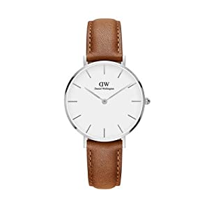 dw, daniel wellington, petite st mawes, petite leather, leather watch