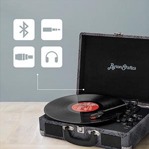 record player bluetooth