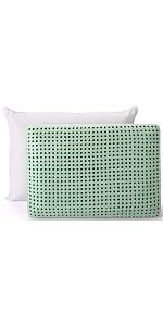 SleepJoy ViscoFresh Green Tea Memory Foam Pillow