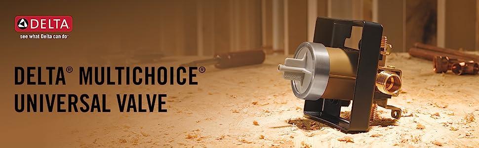R10000-UNBX delta rough valve multichoice universal trim shower kit