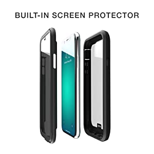 built in screen protector