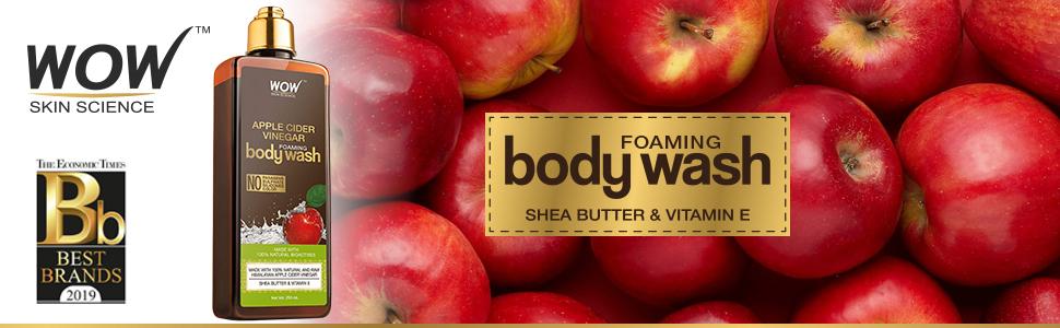 wow apple cider vinegar body wash