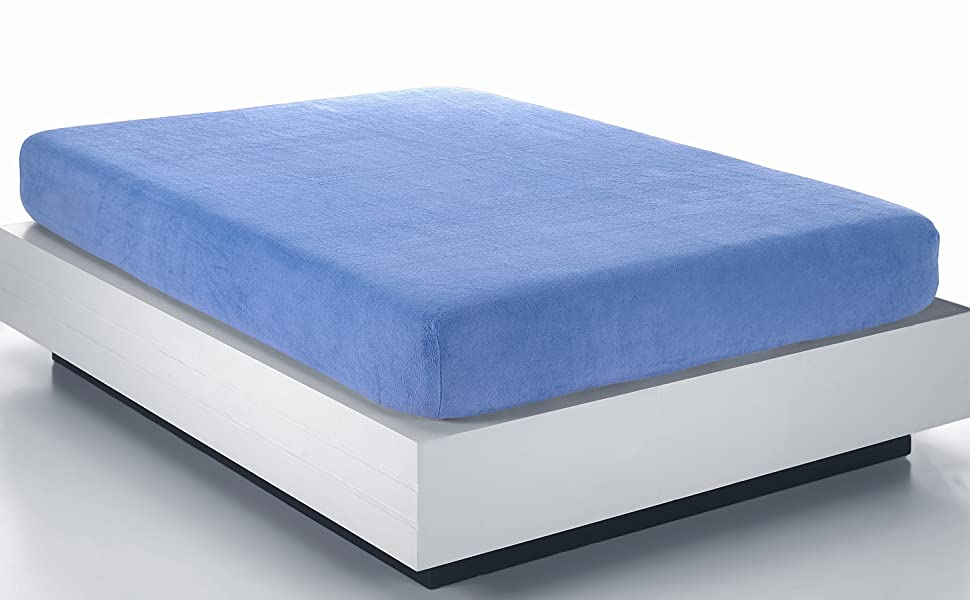 Bajera Ajustable de coralina SABANALIA Cama 105 Azul