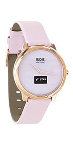 smartwatch frauen smartwatch elegant smart watch rund android hybrid watch damen