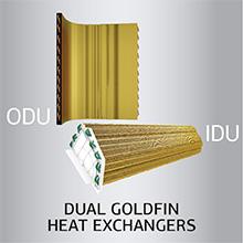 Dual fin