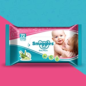 SNUGGLES BABY WIPES ENRICHED WITH ALOE VERA