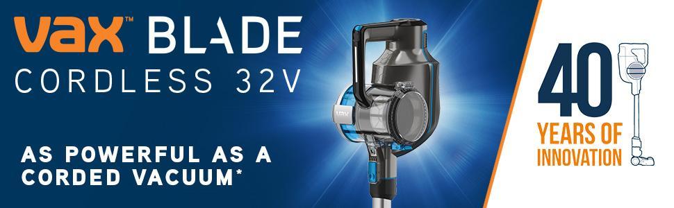 Vax Tbt3v1b1 Blade Cordless Vacuum Cleaner 0 6 Litre 32