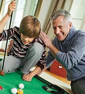skill building hand eye coordination developmental game kids family group putting green mini golf