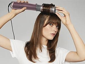 Babyliss, cepillo de aire, cepillo secador, moldeador de pelo, cepillos de aire giratorios, AS960E