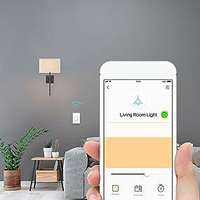 Tp Link Hs220 Kasa Smart Dimmer Wifi Light Switch