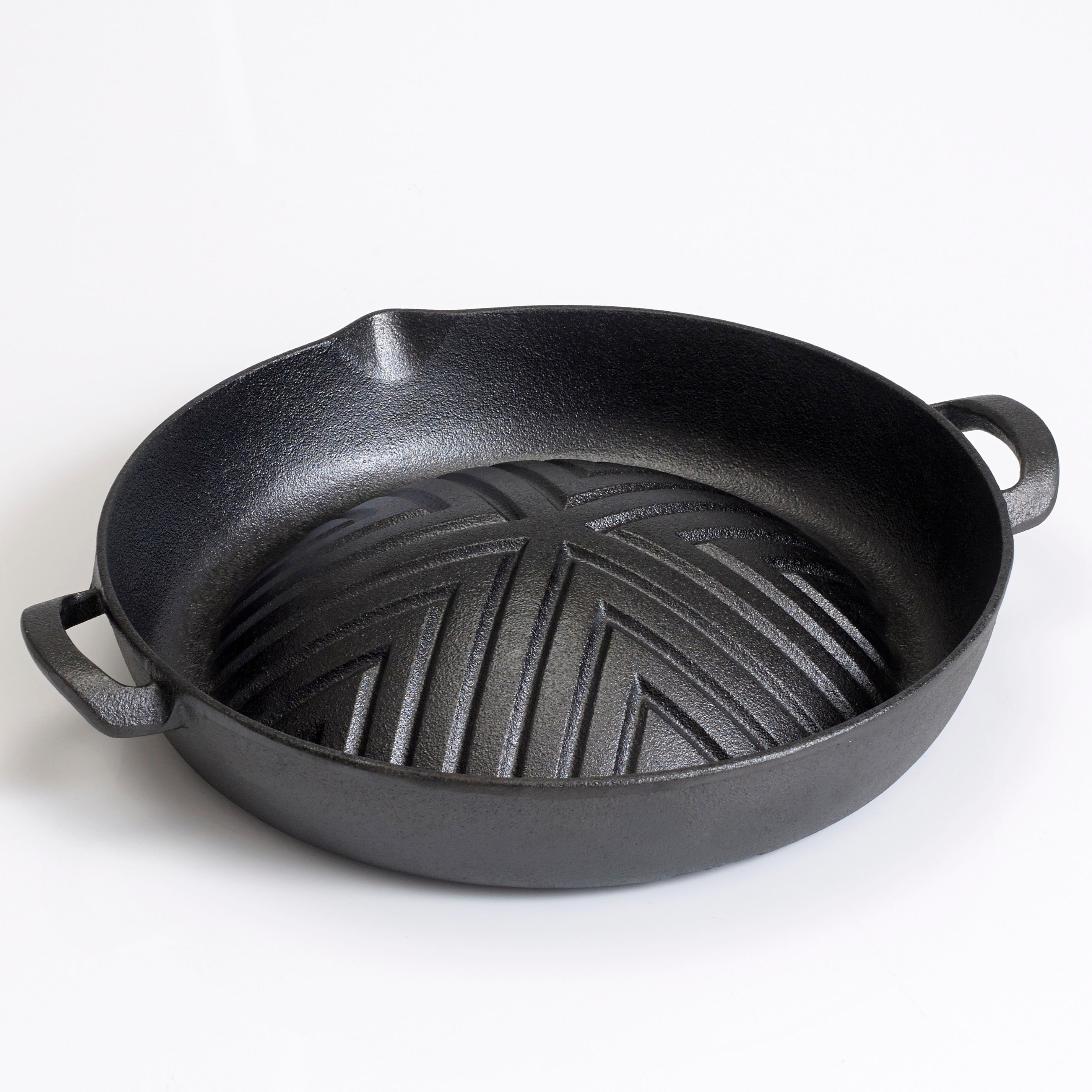 Why Use A Cast Iron Skillet: Victor Cast Iron Skillet, 11.5-inch, Black, 45x30.5x5 Cm