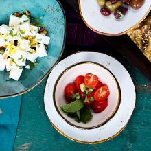 Tuxton Home Food Safe Ceramic Dinnerware