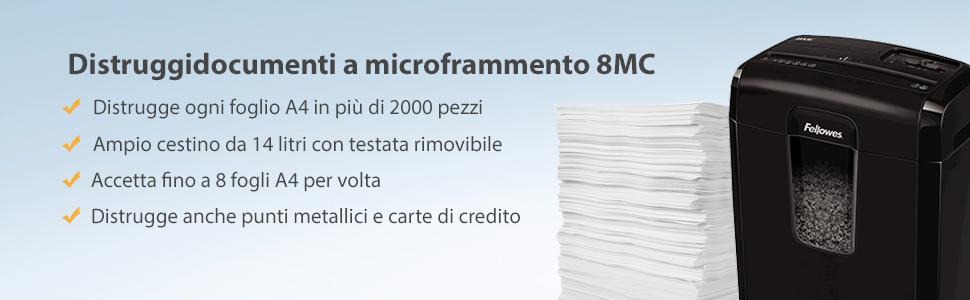fellowes-4692501-distruggidocumenti-8mc-a-microfr