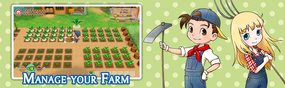 Story of Seasons, farming, sim, simulation, switch, nintendo