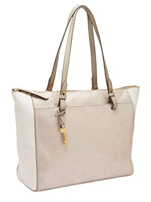 3b6700a195d4 Amazon.com  Fossil Rachel TOP Zip Tote Bag