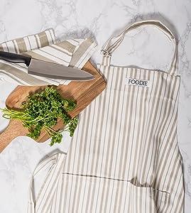 Chef Apron, Kitchen Apron, Men apron, women apron, BBQ apron, cooking apron, apron with pockets