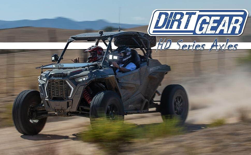 Dirt Gear HD Series Axles GSP UTV XTV ATV Polaris Can Am Arctic Cat Honda Yamaha Kawasaki  Suzuki