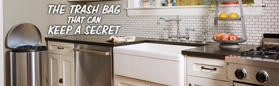 Amazon Com Hefty Ultra Strong Blackout Trash Bags Clean
