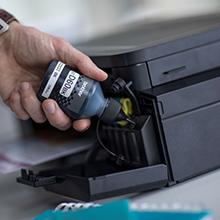 refill, ink refill, refill easy, easy refill, ink savings, more prints