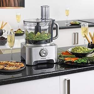 kenwood fpm810 food processor chopper blender slicer grater baking preparation kitchen machine mixer