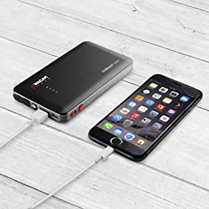 ionboost slim, wagon, jump starter, battery booster, jumper pack, EDC power bank, lithium ion power