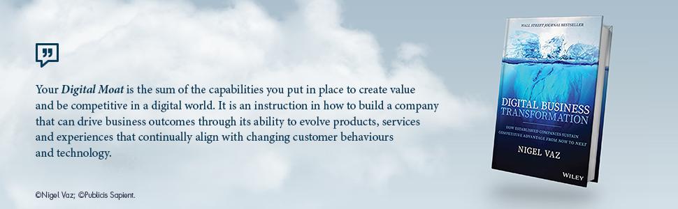 digital business transformation, nigel vaz, business transformation, business change, digital change