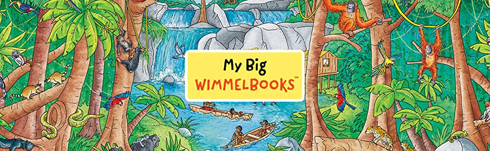 wimmelbooks;my big wimmelbooks;look and find;where's waldo;richard scarrry