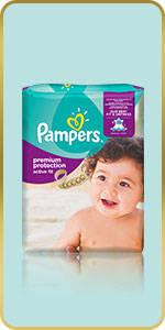 Pampers Premium Protection Active Fit Windeln