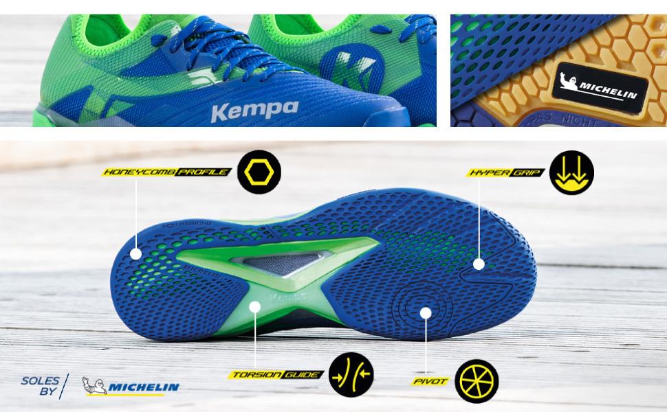 Kempa 2008495 Chaussures de Handball Mixte Enfant