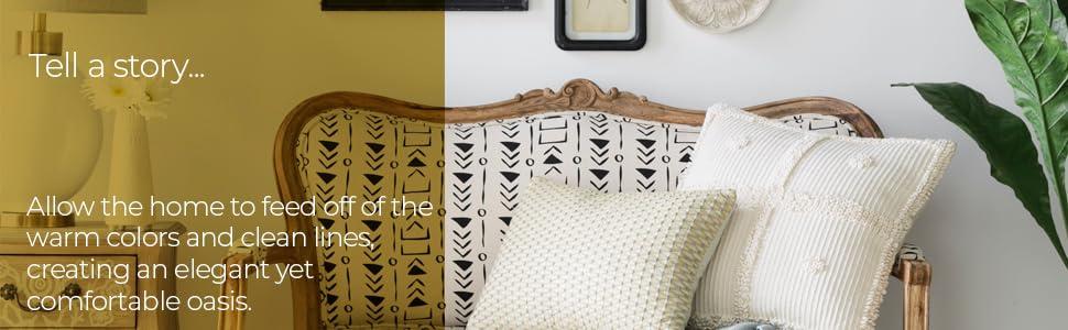 comfortable, oasis, elegant, home, decor, lines