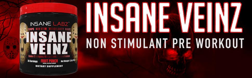 Buy Insane Labz Insane Veinz (Non Stimulant No Enhancing Powder ...