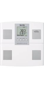 TANITA タニタ 体重 体組成計 日本製 BC-705N WH 自動認識機能付き 測定者をピタリと当てる