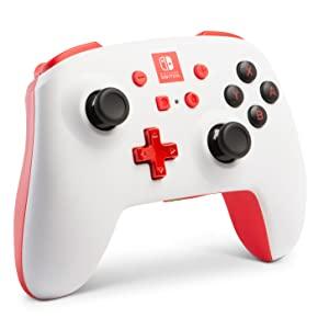 Mando inalámbrico mejorado PowerA para Nintendo Switch. Blanco: Amazon.es: Videojuegos