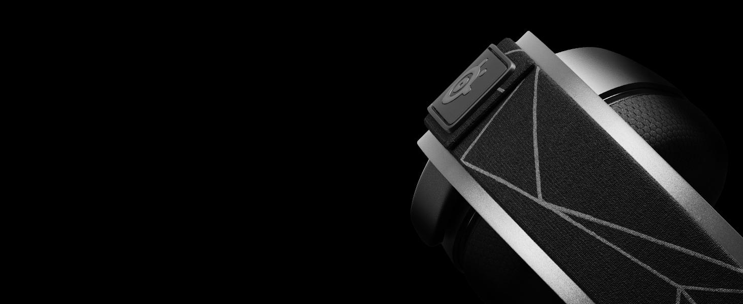 - Arctis 7 steel headband design