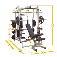 Amazon Com Body Solid Series 7 Smith Machine Package
