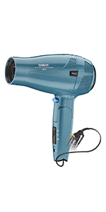 Conair 1875 Watt Ionic Conditioning Cord-Keeper Hair Dryer with Folding Handle