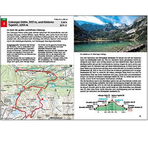 Rother Wanderführer Innenansicht Seite Tourenbeschreibung