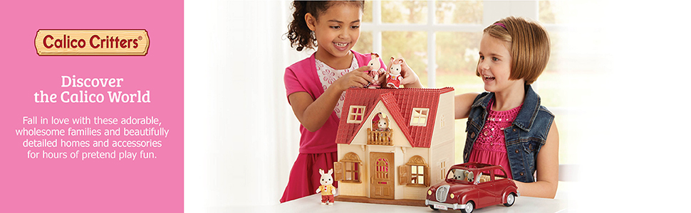 calico critters red roof country home calico critters red roof cozy cottage