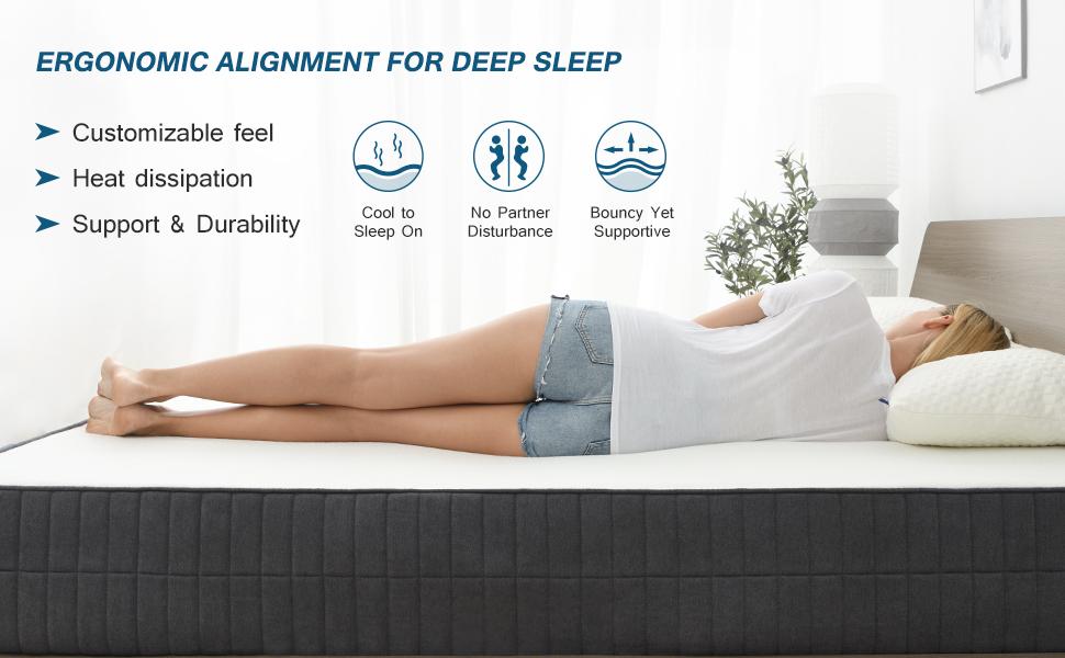 mattreses queen, mattreses queen size, memory foam mattress, foam mattress