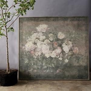 floral vintage wall art