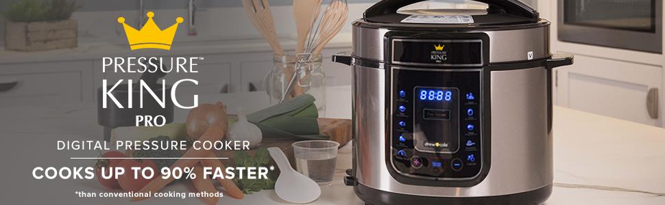 pressure king pro, multicooker, rice cooker, yoghurt maker, pressure cooker