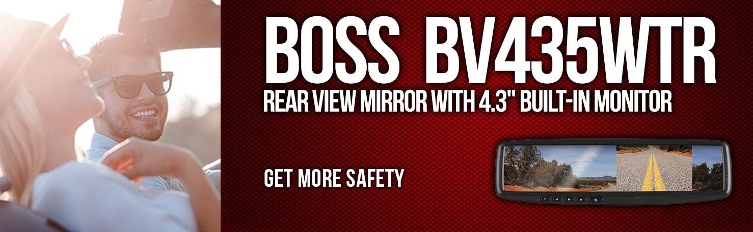 13185caa 489f 4110 9447 aaa21ce062cc._SR970300_ amazon com boss audio bv435wtr rear view car mirror with 4 3 inch Simple Electrical Wiring Diagrams at eliteediting.co
