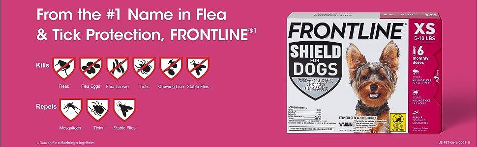 #1 Name in Flea and Tick Protection. Kills Fleas, Flea Eggs, Flea Larvae, Ticks, Chewing Lice.