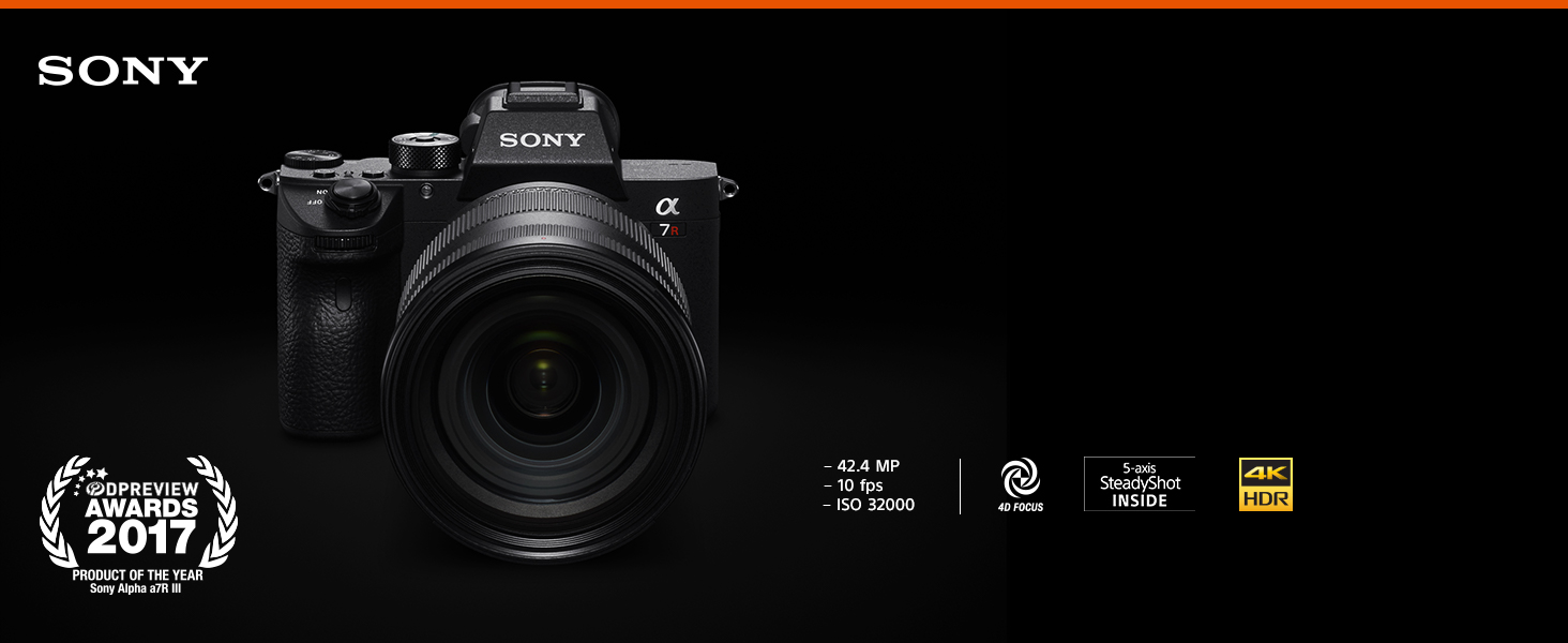 Sony a7R III Mirrorless Camera: 42 4MP Full Frame High Resolution  Mirrorless Interchangeable Lens Digital Camera with Front End LSI Image  Processor,