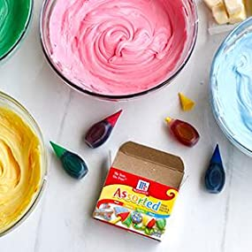 Amazon.com : McCormick Assorted Food Color, 1 fl oz : Grocery ...
