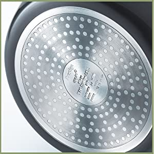 Prestige Hard Anodised Cookware Induction Base Paratha Tawa, 265mm, Black SPN-FOR1