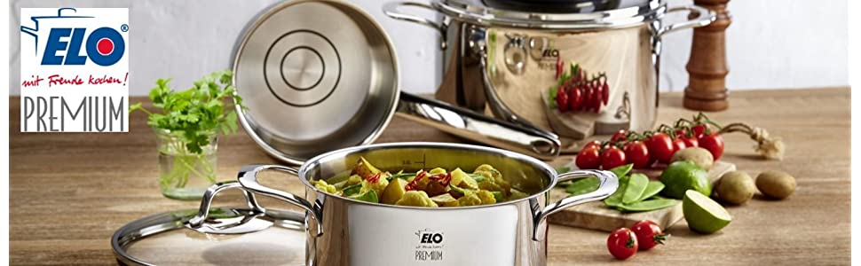 elo germany high quality stainless steel cookware german engineered
