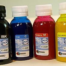 Cartuchorecargable TINC3500, Tintas Pigmentadas para Recargar ...