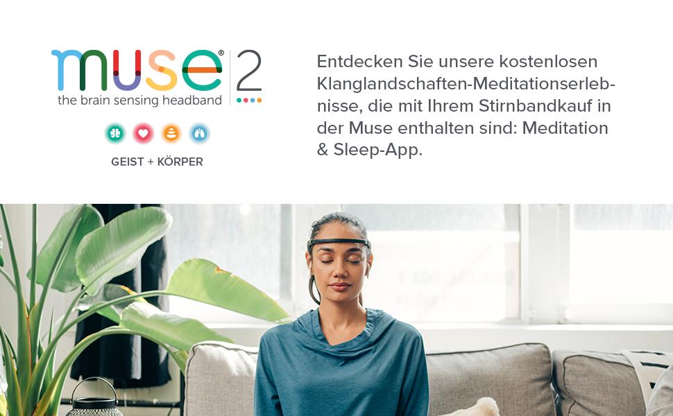 Muse 2: Technologieverstärkte Meditation. Meditation neu vorgestellt