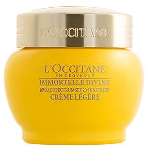 loccitane immortelle divine cream spf20